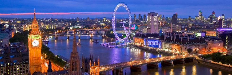 Туристические услуги в Великобритании